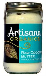 Coconut Butter (raw, organic, whole ground coconut) 14 oz.NEW SIZE