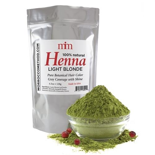 Upaya Naturals Henna Hair Dye Light Blonde 4oz 128g