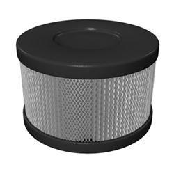 Roomaid HEPA Snap on Replacement Filter (SLATE) By AmairCare