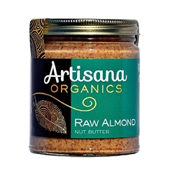 Almond Butter (Certified Organic) 8 oz  (from California Almonds)