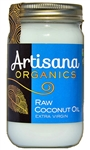 Virgin Coconut Oil (raw, organic,) 14 oz New Size. - Artisana