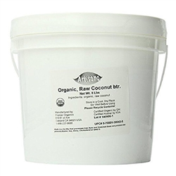 Coconut Manna, Coconut Butter -  BULK  (raw, organic, whole ground coconut) - 1 gal.  / 8 lbs