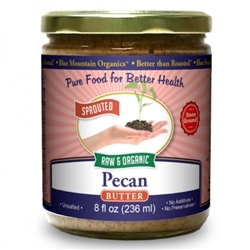 BTR™ Pecan Butter - SPROUTED, Certified Organic, Raw - 16 oz