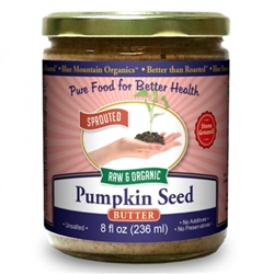 BTR™ Pumpkin Seed Butter 8 oz - SPROUTED, Certified Organic, Raw
