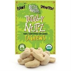 BTR™ CASHEWS, Sprouted and Dehydrated - (10 oz) - SPROUTED, Certified Organic, Raw