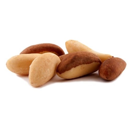 Brazil Nut Pieces, Sprouted and Dehydrated - (8 oz) - SPROUTED, Certified Organic, Raw
