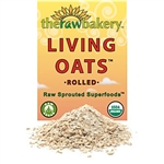 Living Oats, Rolled - 10 oz (Raw, Sprouted,Organic)