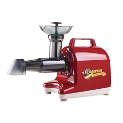 Champion Juicer - Household Model 4000 - Red
