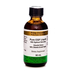 Pure Chlorella Growth Factor (CGF) Extract - (50 ml)