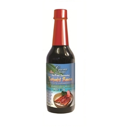 Soy-Free Seasoning TERIYAKI SAUCE (formerly Coconut Aminos), 10oz Glass Bottle (Certified Organic) - Note: Leakage may occur during shipping due to natural fermentation.