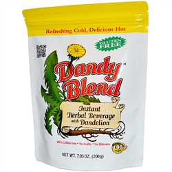 Dandy Blend - 7.05 oz. bag - Instant Herbal Beverage with Dandelion (Coffee Alternative) Certified Kosher