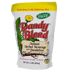 Dandy Blend - BULK (2 lb) - Instant Herbal Beverage with Dandelion (Coffee Alternative) Certified Kosher