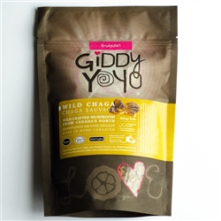 Chaga Chunks -Tea Cut - (Organic, Raw) (9 oz) - Giddy Yoyo
