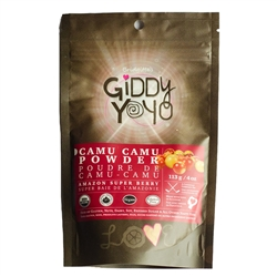 Camu Camu Berry Powder, 4 oz. (Organic Pure Vitamin C) - Giddy Yoyo ***CLEARANCE BEST BEFORE OCTOBER 2020***