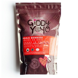 Goji Berries, 454 g. (Organic)- Giddy Yoyo