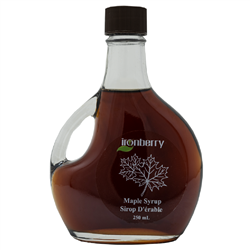 Pure Maple Syrup. 250ml (Non-GMO, gluten-free, Kosher, and Vegan) - IronBerry
