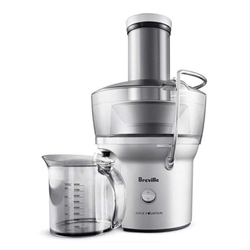 Breville Juice Fountain Compact (Silver, Model BJE200XL)