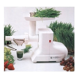 Electric Stainless Steel Wheatgrass Juicer (MJ550SS) - Miracle Exclusives