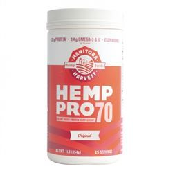 HempPro 70 - 1lb (Water Soluble 70% Protein Concentrate) Powder *** CLEARANCE BEST BEFORE APRIL 2019 ***