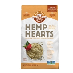 Hemp Seed (Hemp Hearts) shelled - Natural, Non-GMO - 5 lb/2.27kg Bag ***CLEARANCE BEST BEFORE SEPTEMBER 2020***