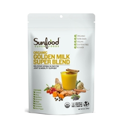 Golden Milk Super Blend, 6 oz. (Organic) - Sunfood