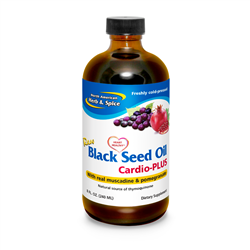 Black Seed Oil Cardio Plus - 8fl oz - North American Herb & Spice