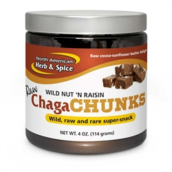 ChagaChunks 4oz - Nut 'n Raisin - North American Herb & Spice
