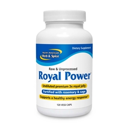 Royal Power - 120  veg caps - North American Herb & Spice