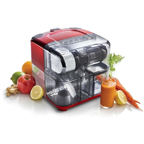 Omega CUBE300R Juice Cube and Nutrition System - Red