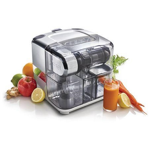 Omega CUBE300R Juice Cube and Nutrition System - Silver
