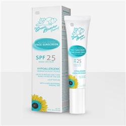 Face Cream Natural Mineral Sunscreen Lotion SPF 25 - Green Beaver