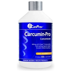 CanPrev Curcumin Pro Concentrate - 500ml Liquid ***CLEARANCE BEST BEFORE AUGUST 2020***