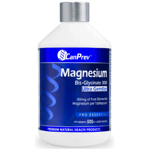 CanPrev Magnesium Bis-Glycinate Gentle - Liquid - 500ml