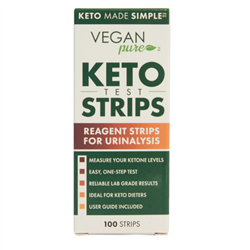 Vegan Pure Keto Test Strips - 100ct