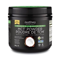 Nutiva - Organic MCT Powder - 300g ***CLEARANCE BEST BEFORE OCTOBER 2020***