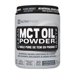 Nutraphase MCT Oil Powder - Unflavoured - 300g ***CLEARANCE BEST BEFORE JULY 2020***