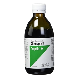 Liquid Chlorophyll (Super Concentrate), 250 ml. - Trophic