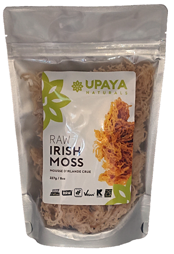Buy Raw Irish Moss (Sea Moss) 8oz Wild Harvested at Upaya Naturals