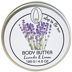 Body Butter - Lavender and Lemon 120g. - Rallis