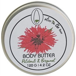 Body Butter - Patchouli and Bergamot 120g. - Rallis