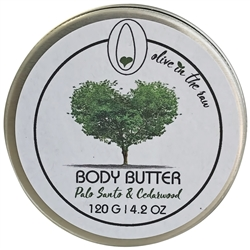 Body Butter - Palo Santo and Cedarwood 120g. - Rallis