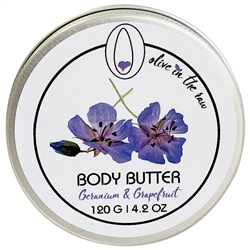 Body Butter - Geranium and Grapefruit 120g. - Rallis