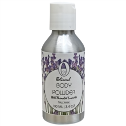 Body Powder - Wild Harvested Lavender 100ml. - Rallis