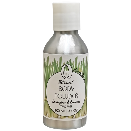 Body Powder - Lemongrass and Rosemary 100ml. - Rallis