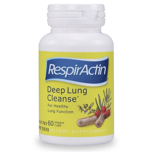 Respiractin Deep Lung Cleanse 60 Veg Caps Sunforce