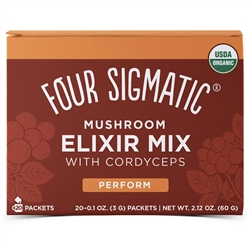 Instant Cordyceps - Four Sigmatic - (2.12 oz, 60g. 20 bags) *** CLEARANCE BEST BEFORE JANUARY 2019 ***