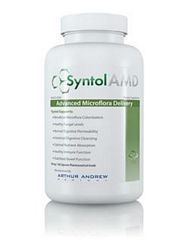 Syntol AMD Advanced Microflora Delivery - 360 Vcaps (Probiotic,Prebiotic, & Enzyme Formulation) *** CLEARANCE BEST BEFORE JULY 2019 ***