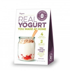 Vegan Yogurt Starter - DRIED (Net Wt.1g) - Includes Instructions ***CLEARANCE BEST BEFORE DECEMBER 2019***