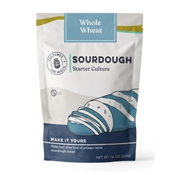 Whole Wheat Sourdough Starter - Dried (Net Wt. 3.9g) - Includes Instructions ***CLEARANCE BEST BEFORE DECEMBER 2019***