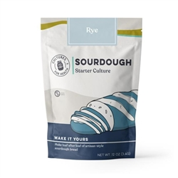 Rye Sourdough Starter - Dried (Net Wt. 3.4g) - Includes Instructions *** CLEARANCE BEST BEFORE JANUARY 2019 ***